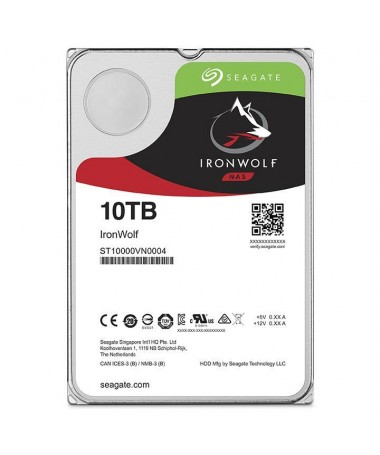 Disk HDD Seagate IronWolf ST10000VN0004 (10 TB , 3.5 Inch, SATA III, 256 MB, 7200 rpm)