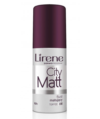 Fondatinë Lirene City Matt Toffee 208 (30 ml)