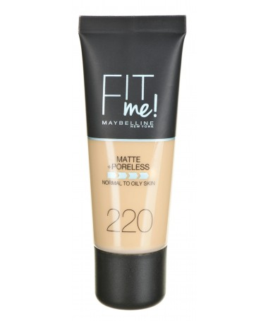 Fondatinë Maybelline Fit Me! 220 Natural Bezhë (30 ml )