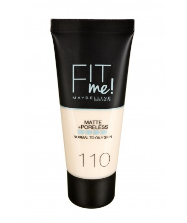 Fondatinë Maybelline Fit Me! 110 Porcelain (30 ml )