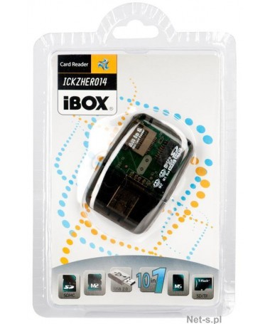 CARD READER USB 4 PORTSH IBOX