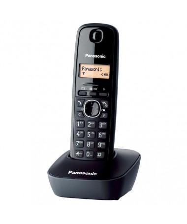 Telefon fiks Panasonic KX-TG1611PDH ( e zezë)