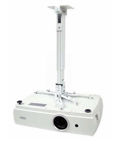 Mbajtës projektori AVTEK EASYMOUNT (për tavan/ 430 mm - 650 mm/ 10 kg / e bardhë)