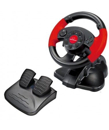 Timon gaming Esperanza High Octane EG103 ( PS2 PS3 PC / D-Pad Vibes Base with pedals Paddle shifters )