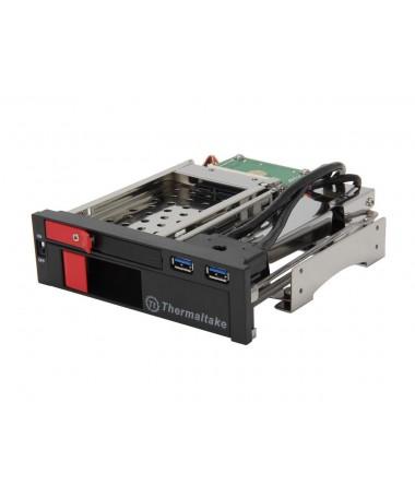 """Shëndrrues për disqe HDD 3.5"""" / 2.5"""" SATA ( Thermaltake ST0026Z )"""