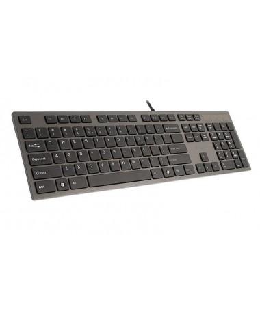 Tastaturë A4 TECH KV-300H A4TKLA39976 (Membranë / USB 2.0/ e zezë)