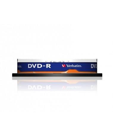 DVD-R Verbatim 43523 (4/7GB/ x16/ 10/ Cake)