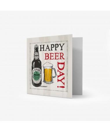 KARTOLINË 7x7 HAPPY BEER DAY LEGAMI