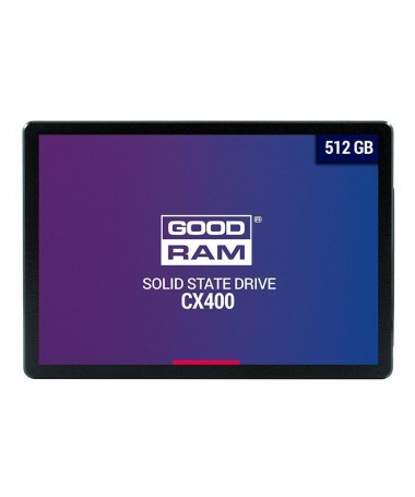 DISK SSD GOODRAM CX400 512GB SATA III 2/5 RETAIL