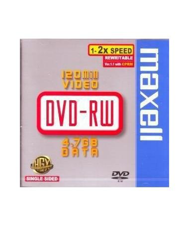 DVD-RW 47 2X 5PK JEWEL MAXELL
