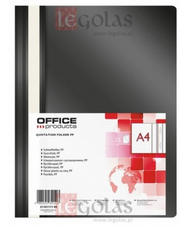 FASIKËLL A4 ME MEKANIZEM ZEZË OFFICE PRODUCTS