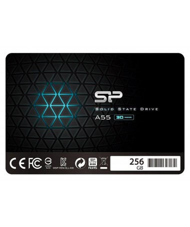 Disk SSD Silicon Power A55 SP256GBSS3A55S25 (256 GB / 2.5 Inch/ SATA III)