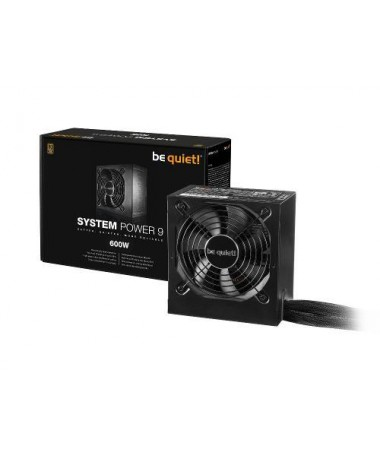 Furnizues rryme BE QUIET! SYSTEM POWER 9 BN247 (501-600 W/ aktiv/ 120 mm)