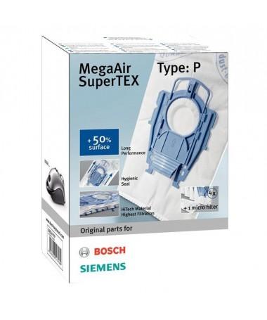 Thasë Bosch (material sintetik/ BOSCH BBZ41FP/ 4 copë)
