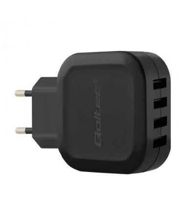 Mbushës Qoltec 50192 (4800 mA/ 24 W/ USB)