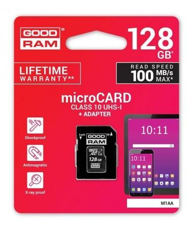 Kartelë memorike SD GoodRam M1AA-1280R12 (128GB/ Class 10)