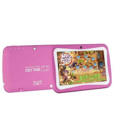 "Tablet BLOW KidsTab 7.2 79-006/ (7/0""/ 8GB/ WiFi/ rozë)"