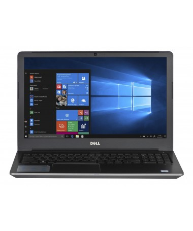 Laptop Dell V5568 15/6 i7-7500U 8GB 256SSD 940MX BK FPR W10P