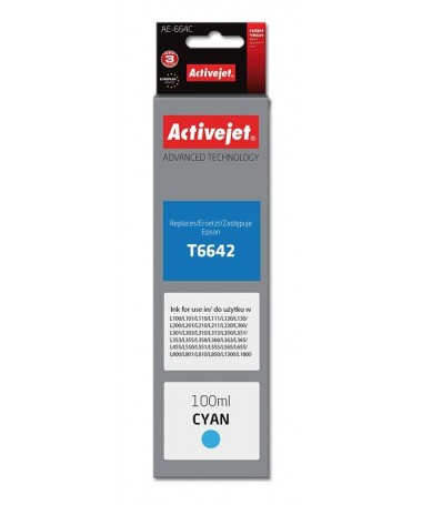 Activejet tusz do Epson T6642 new AE-664C