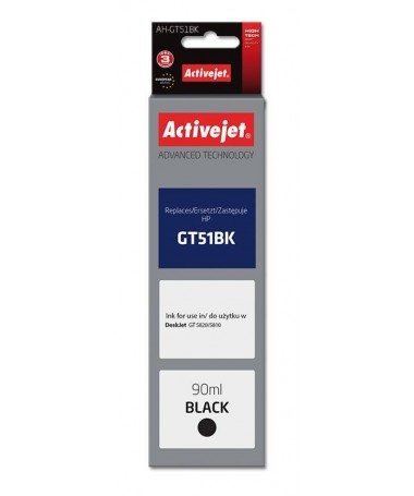 Activejet kertrixh HP GT51BK M0H57AE new AH-GT51Bk
