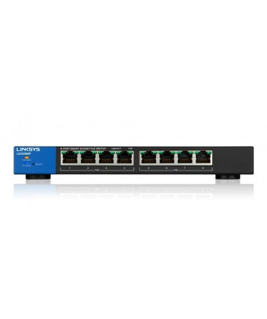 Switch Linksys LGS308MP (8x 10/100/1000Mbps)