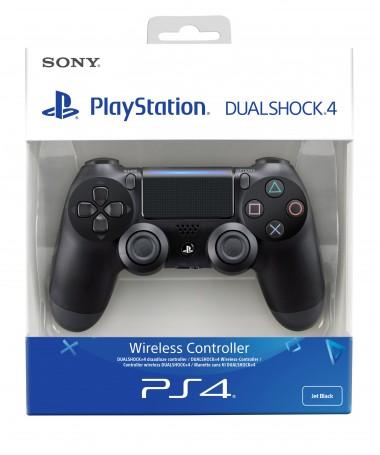 Joystick Sony Dualshock 4 v2 ( PS4 e zezë )