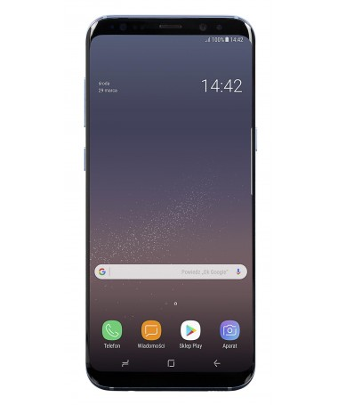 "Smartfon Samsung Galaxy S8+ (6/2""/ 64GB/ Blue)"