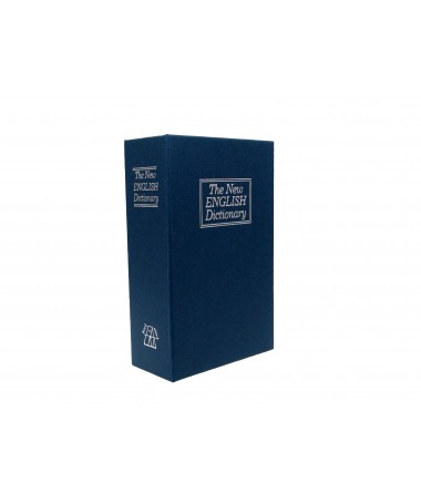 Safe book IBOX ISNK-05BLUE (115 mm x 180 mm x 55 mm)