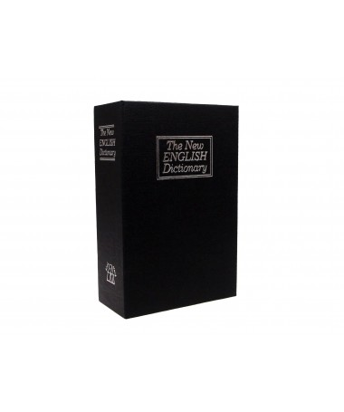 Safe book IBOX ISNK-05BLACK (115 mm x 180 mm x 55 mm)