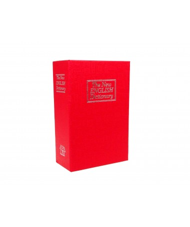 Safe book IBOX ISNK-05RED (115 mm x 180 mm x 55 mm)