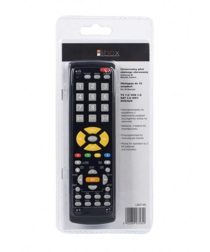 Teledirigjues univerzal Libox LB0146 (TV)