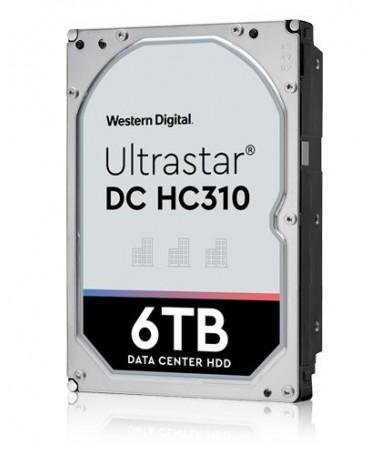 """Disk HDD HGST Western Digital Ultrastar DC HC 310 (7K6) HUS726T6TALN6L4 (6 TB/ 3.5""""/ SATA III)"""