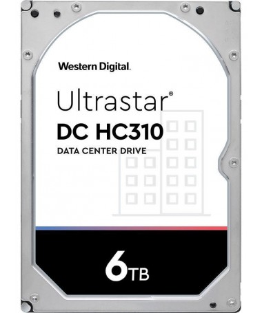 """Disk HDD HGST Western Digital Ultrastar DC HC 310 (7K6) HUS726T6TALE6L4 WD6002FRYZ (6 TB/ 3.5""""/ SATA)"""